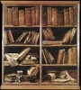 Bookshelves by Giuseppe Maria Crespi