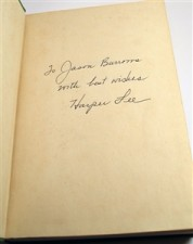 Example of Signed First Edition