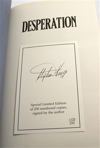 Example of Signed Limited Edition with Affixed Bookplate