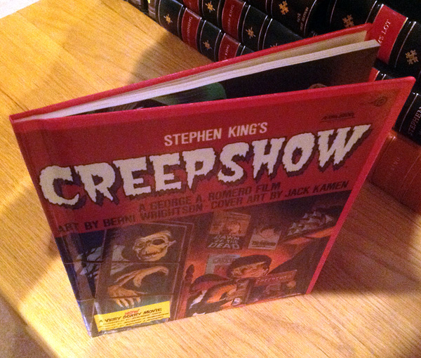 A first edition Hardcover of Creepshow with all first printing points.