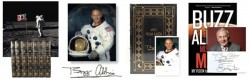 Buzz Aldrin signed books