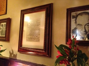 Commemorative Photos at the Eagle and Child